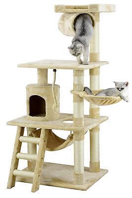 Cat Tower Condo Furniture Big High Kitten Playhouse Climbing Pet Exercise Perch