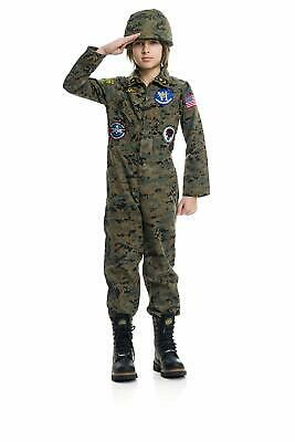 Boys Seal Team Six 6 Military Camo Navy Fancy Dress Halloween Child Costume - Navy Seal Boys Costume