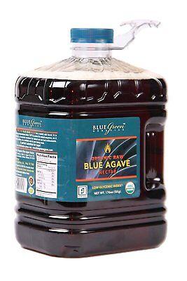(RAW Organic Agave Nectar, 1 Gallon, 176 Ounce )