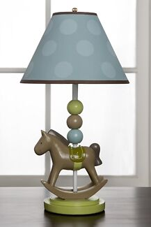 Brand new kidsline rocking horse lamp