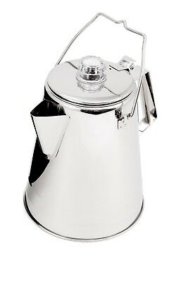 GSI Outdoors Glacier 14 Cup Stainless Steel Coffee Percolator Gsi Outdoors Cup