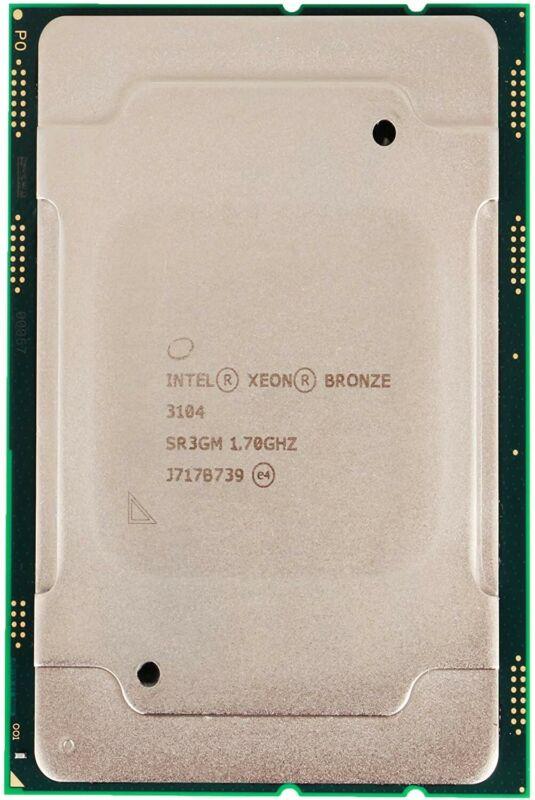 Intel Xeon Bronze 3104 6 Core Processor 1.7 GHz - SR3GM