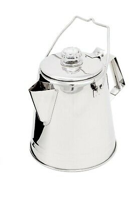 GSI Outdoors Glacier 8 Cup Stainless Steel Coffee Percolator Gsi Outdoors Cup