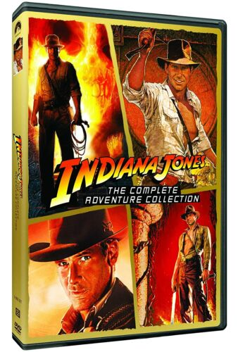 Indiana Jones - The Complete Adventure Collection (5-Disc DVD Set) - Brand New