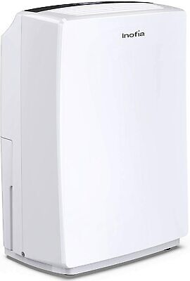 30 Pint Dehumidifier for 1500 SQ FT Space Electric Dehumidifier Humidity Control