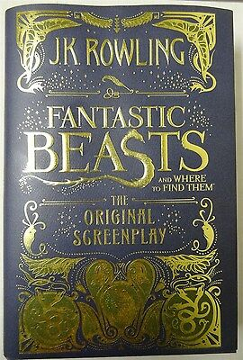Fantastic Beasts & Where to Find Them :The Original Screenplay by J. K. Rowling