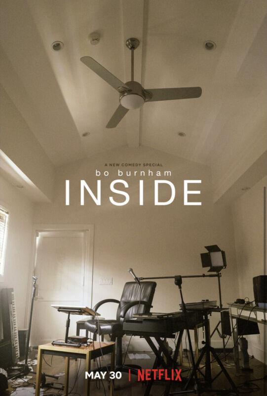 Bo Burnham- Insid Movie Film 2021 Poster Art Print Full Size