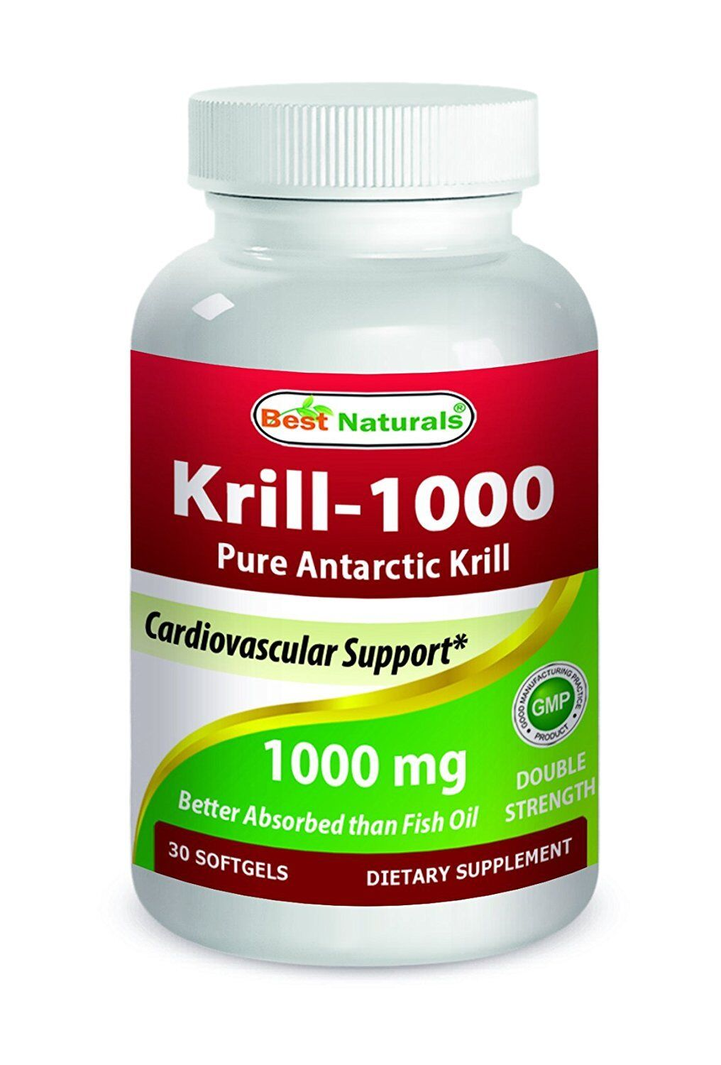 KRILL OIL 1000mg - Double Strength by Best Naturals
