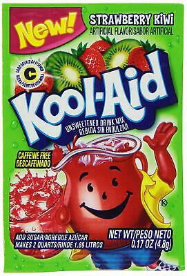 Kool-Aid Drink Mix Strawberry Kiwi 10 Packets Strawberry 10 Packets