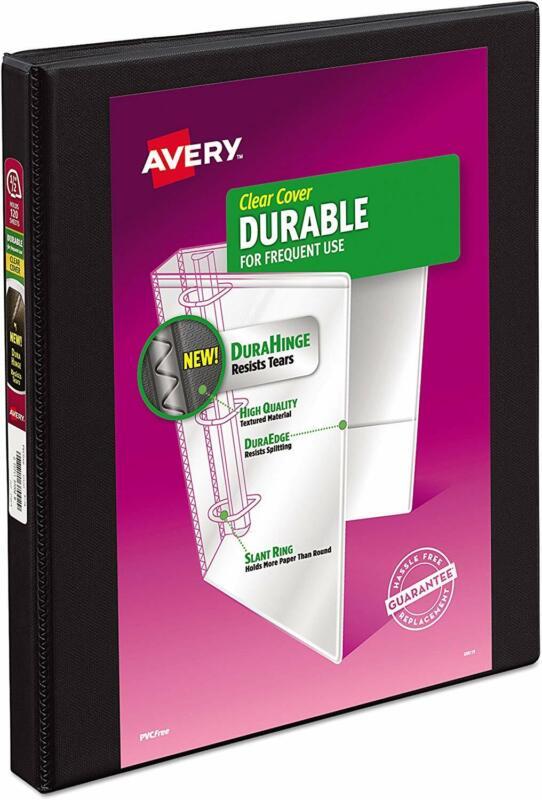 Avery 17001 Durable View Binder w/Slant Rings 11 x 8 1/2 1/2