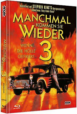 OMMEN SIE WIEDER III 3 Cover A BLU-RAY DVD Stephen King NEU (Halloween Iii 2017)