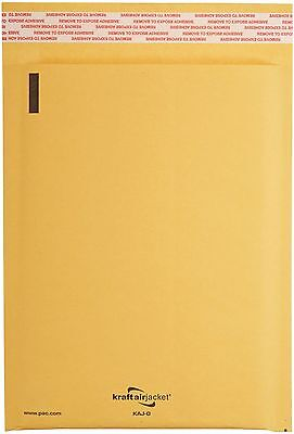 50 7 Kraft Bubble Mailers Padded Bubble Lined Envelopes Envelopes 14.25x20 Kaj