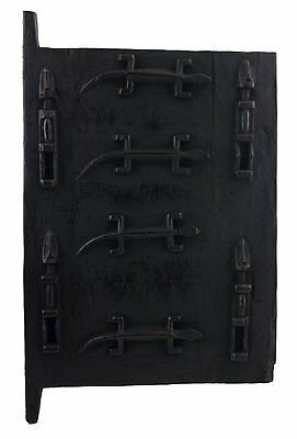 Door Dogon Attic in Mil Mali 62x38 cm - Flap Case - 450w Art African - 16402