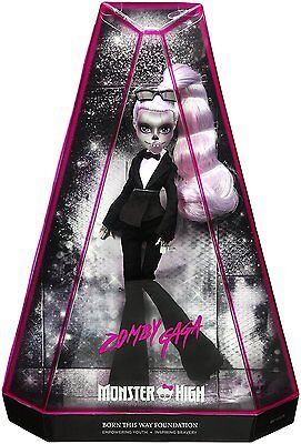 Monster High Zomby Gaga - Zombie Lady Gaga Doll - Exclusive - BRAND NEW IN BOX