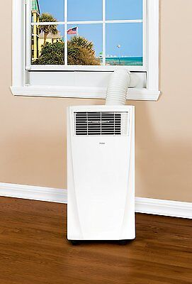 Haier HPB08XCM-LW 8,000 BTU Small Room Air Conditioner with Small