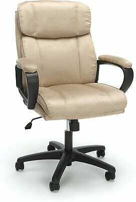 OFM Essentials Collection Plush Microfiber Office Chair, in Tan