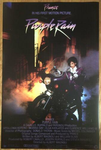 prince purple rain movie poster 24 x