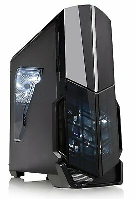 Custom Built Desktop Gaming PC 8GB 1TB Quad Core Computer System Fast New PC