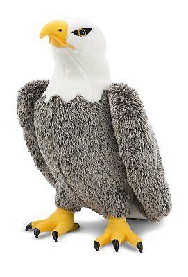 Melissa  Doug Bald Eagle - Lifelike Stuffed Animal (17 inches tall)