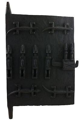 Door Dogon Attic Mali 64x38 cm Flap Art African West Africa 16521 Hg 1