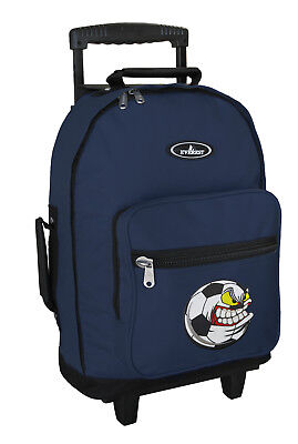 Soccer Backpacks with Wheels BEST Rolling WHEELED Carryon Bag SCHOOL or