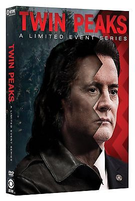 Twin Peaks  A Limited Event Series  Dvd  2017  8 Disc Set  Brand New Free Ship