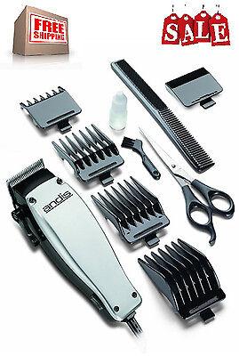 Hair Clipper Trimmer Set Mens Shaver Electric Professional Beard Cut Barber Kit