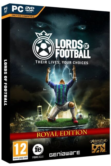 The Lords of Football - Royal Edition (PC DVD) NEW & Sealed