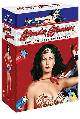 Wonder Woman  The Complete Series Collection  Dvd Box Set  Region 1 11 Disc  New