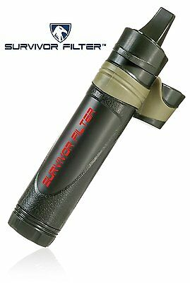 Survivor Filter - Reusable Portable Water Filter with Triple Absolute Filtration