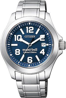 Eco Bells (Citizen BN0121-51L PROMASTER Eco-Drive mont-bell Limited Edision  From Japan )