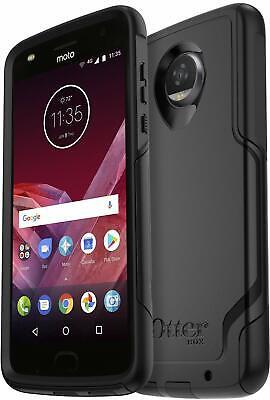 OtterBox Commuter Case for Motorola Moto Z2 Play - Easy-Open Packaging - Black