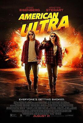American Ultra  D  13 5X20 Promo Movie Poster
