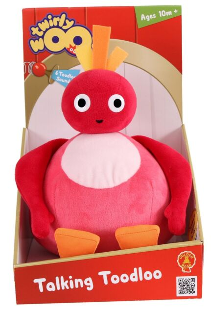 NEW!! Twirlywoos Talking Toodloo Soft Toy 10m+ FREE DELIVERY!!