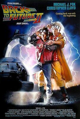 Filmposter USA 68x98: Zurück in die Zukunft - Back to the Future II    [1989]