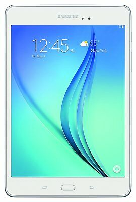 "Samsung Galaxy Tab A 8"" Android Tablet with 16GB Recollection & MicroSD Niche in Pale"