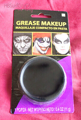 non-toxic Black Grease Makeup, Halloween /Costume Face Paint Cosplay - Black Face Paint Halloween
