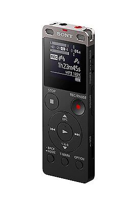 BRAND NEW Sony ICD-UX560 Stereo Digital Voice Recorder w/Built-in USB