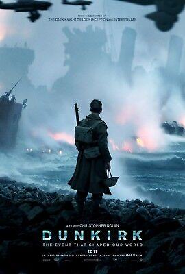 Dunkirk   Original Ds Movie Poster   27X40 D S 2017 Advance   Christopher Nolan