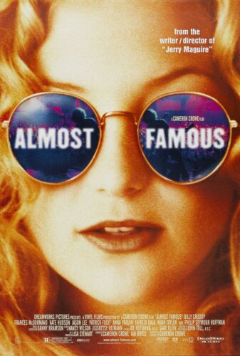 ALMOST FAMOUS (2000) ORIGINAL MOVIE POSTER  -  ROLLED