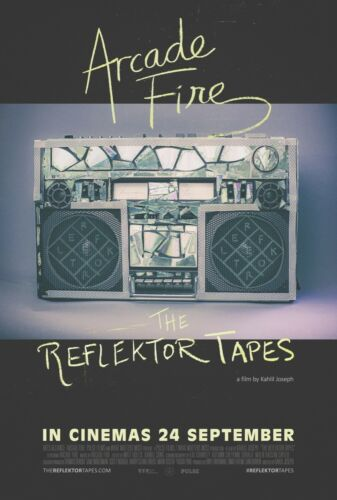 Arcade Fire: The Reflektor Tapes movie poster 27x40 D/S Butler Canada LCD doc