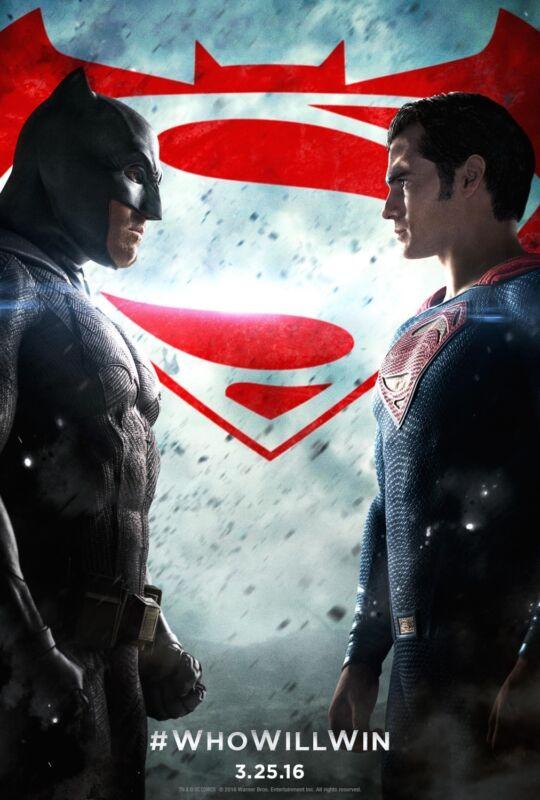 Batman+V+Superman+Dawn+Of+Justice+Original+Movie+Poster+DS+-+Regular+Style