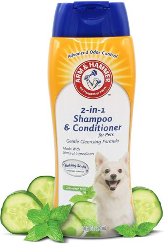 Dogs 2-In-1 Shampoo Conditioner Dog Eliminate Advanced Odor Control Shampoo,20OZ