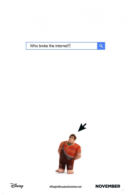 Купить Wreck-It Ralph 2 Breaks the Internet original D/S movie poster D/S 27 x 40 Adv A