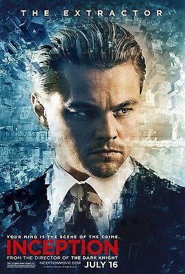 Inception Movie Poster Print : Leonardo Dicaprio Poster : 11 X 17 Inches