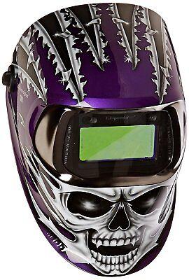 3m 49956 Speedglas Raging Skull Welding Helmet 100 With Auto-darkening Filter