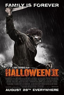 HALLOWEEN 2 Michael Myers MOVIE Silk Fabric POSTER Horror Remake Rob Zombie - Halloween 2 Remake