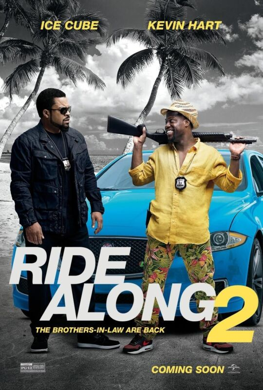 RIDE ALONG 2 - 27x40 ORIGINAL D/S MOVIE POSTER