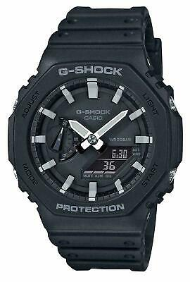 G-Shock GA-2100-1AER Black Casio Casioak Carbon Core Watch GA-2100-1A