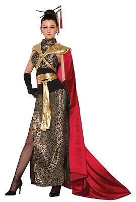 Dragon Empress Asian Warrior Queen Fancy Dress Up Halloween Sexy Adult (Asian Dragon Kostüm)
